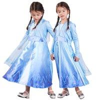 Kızlar Yeni Cloak Elbiseler Karikatür Parti Sahne Gösterisi Elbise Prenses Elbiseler Çocuk Elbise Kız Mesh Kostüm 2-7 T 04
