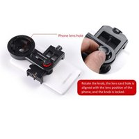 Cell Phone Mounts & Holders Telescope Holder Lens Quick Pography Adapter Mount Stand For Binoculars Monocular Spotting Scope Microscope Supp