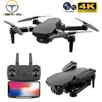 S70 Drone 4K HD Dual Caméra Hauteur pliable Hauteur Garder le drone WiFi FPV 1080P Transmission en temps réel RC Quadcopter jouet 210915