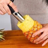 Meyve Araçları Paslanmaz Çelik Ananas Soyucu Kesici Dilimleme Topa Peel Çekirdek Bıçak Gadget Mutfak Malzemeleri EWD6745