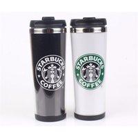 Starbucks Двойная стена из нержавеющей стали Кружка из нержавеющей стали Гибкие чашки / чашка кофе / кружка / Путешествия Кружки / Чашки / Чашки для чая / Чашки вина 4 Цвета {RandomText} V9KX