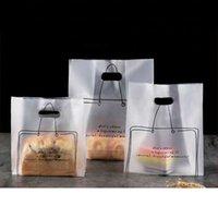 500pcs lot Plastic Bag for Baking Egg Tart Sushi Packaging Bread Cake Shop Disposable Bag Takeaway Plastic Tote Gift Bags