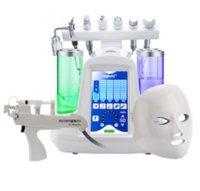 Hotsale 9 en 1 agua hidrofacial Oxígeno Jet Aqua Peel Máquina de belleza Rejuvenecimiento Facial Limpieza profunda para el salón / SPA / HOGAR