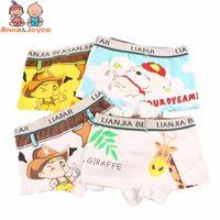 PCs / Los Boy Boxer Baby Jungen Unterwäsche Kinder Höschen Cartoon Taxi Auto Kind Unterhosen Baumwolle Shorts für Kinder
