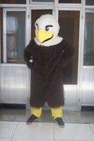 Real Picture Eagle Mascot Traje Fancy Dress para Halloween Carnaval Party Support Customization