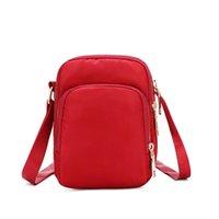 Shoulder Bags 2021 Women's Casual One-shoulder Mobile Phone Bag, Lightweight Messenger Waterproof Nylon Coin Purse, Mini Women Bag
