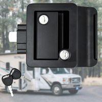 Entry Door Lock Handle Knob Deadbolt Camper Travel Trailer Latch Key Caravan Panel 3 Color Can Choose ATV Parts