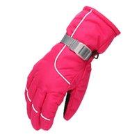 Ski Gloves Mens Women Plus Velvet Sports Cycling Snowboard Winter Warm Boy Girl Skiing Motorcycle Riding Outdoor Snow
