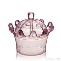 Yaratıcı Taç Şeker Kutusu Yuvarlak Şekil Plastik Bebek Duş Malzemeleri Şeffaf Düğün Hediye Paketi Süslemeleri 0 97SS II YSW9