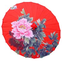 Rose Vintage Susino Paper Ombrello Donne Manico lungo Girl PARACHASE Giapponese Giapponese Legno rosa Semsiye Topx 50YS110 Umbrellas