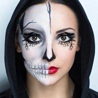 EyeShow Eyeshadow Rosto Adesivo Halloween Eye Shadow Forro Tatuagem Liner Decorativo Ferramenta De Maquiagem Descartável
