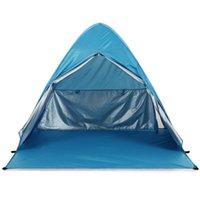 Tents And Shelters 2021 Upgrade Beach Tent UV Sun Shelter Lightweight ShadeBeach Drop