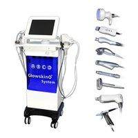 Salon use 10in1 Hydrafacial Machine Hydro Dermabrasion Facial Peeling Ultrasonic Skin Scrubber Oxygen Spray Skin Care Microdermabrasion