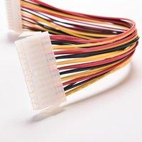 30cm ATX 24 Pin Männern auf 24pin weibliche Netzteil Verlängerungskabel Interne PC PSU TW Leistungsleitung Stecker