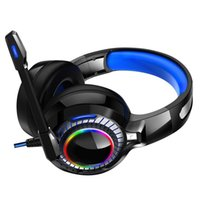 Headphones & Earphones RGB Computer Gaming Headset Head-Mounted Game Listening And Hearing Position Wired Desktop Notebook Super Bass