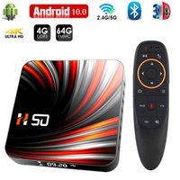 Hongtop Andriod TV Box 4K Smart TVBox 4GB 32GB 64GB RK3318 TV Box Android 10 BT4.0 2.4G&5G WIFI Set Top Box