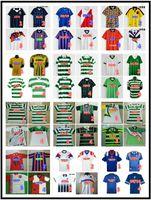 Scotland Retro Soccer Jerseys 82 83 84 87 90 92 93 94 95 96 97 98 99 01 08 Gerrard Gascoigne Laudrup Albertz McCoist Celtic FC Chemise de football Uniformes