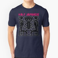 Men's T-Shirts Half Japanese Men T-Shirt Soft Comfortable Tops Tshirt Tee Shirt Clothes Punk Grunge Maryland Usa 1980S 80S 90S