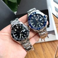 Kof 43mm Watch Pointer Original rörelse 300 meter Djup Vattentät Tuff Guy Style 43 mm Diameter Sapphire Spegel Fine Steel Watchband Wire Drawing Process