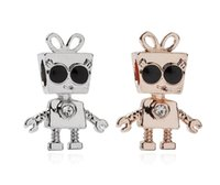 Fits Pandora Bracelets 30pcs Sunglasses Bella Charms Beads Silver Charms Bead For Women Diy European Necklace Jewelry