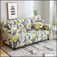 Sashes Textiles Home & Garden2 Seater Stretch Sofa Ers Furniture Protector Polyester Loveseat Couch Arm Chair Er For Living Room Drop Delive
