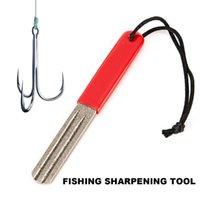 Fishing Hooks 1PC Diamond Hook Hone Fishhook Sharpening Grinding Tackle Accessories Tool