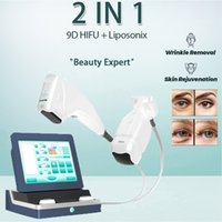 7D hifu ultrasounic 9d cartridge anti-aging machine body slim high intensity focused ultrasound anti aging Cellulite Reduction
