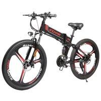 Jinghma R3 Elektrische vouwen Powered Mountain Cross-Country Variable Speed Bike 48 V 12.8Ah 40km / H LG Lithium-batterij