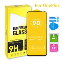 Phone Screen Protector For OnePlus 6T 7 7T 8T 5G High Qualtiy 9D Tempered Glass 9 9Lite 9E 9R Nord 2 N100 N200 Samsung A03S a30S A20S A02S A22 4g MI 11X with retail package