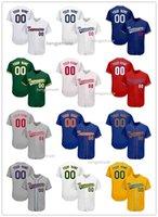 Özel beyzbol dikişli baskılı gömlek sporcunun spor giyim mesh tasarım takım adı numarası genç çocuk için kişiselleştirilmiş üniforma, kolej giyer, atletik.
