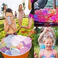 Decoración de la fiesta 111PCS Globos de polo de agua Suplementa con recarga Quick Easy Kit Latex Bomb Juegos de lucha para niños adultos FAOVR