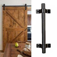 Handles & Pulls 1pcs Carbon Steel Barn Door Handle Gate Pull Heavy Duty Wood Sliding Vintage Hardware