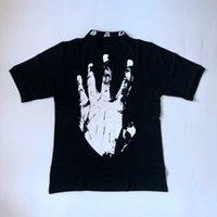 Мужские Polos Mens дизайнер футболки плотный XXXTentacion с коротким рукавом футболка высокая улица