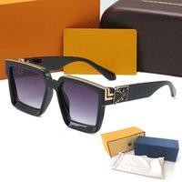 Hohe Qualität Designer Herren Sonnenbrille 96006 Brillen Womens Marke Sonnenbrille Vintage UV400 Schutzgläser Metallscharnier mit Hüllen und Kisten Glitter2009