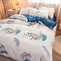 Bedding Sets 4-Piece Set Printed Bed Linen Euro 150x200 Quilt Covers Pillowcases Sheets 160x200 135x200 200x200 Queen King Size