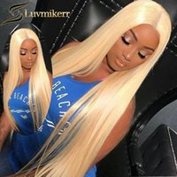 Lace Wigs 613 Blonde 13x4 Frontal 40 Inch Straight HD Transparent Human Hair Full Colored Wig For Women Glueless Pre Plucked