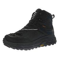 HOKA ONE TOR Ultra High Climbing Moutains Schuhe für Männer Wanderstiefel Herren Wüste Sticking Stiefel Trekking Jagd Angeln Camping Klettern MouNain Sneakers in Schwarz