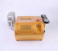 6 IN 1 Ultrasonic 40K Cavitation RF Vacuum Ultrasound Slimming Machine Lipo Laser Liposuction Weight Loss Fat Burning