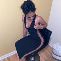 Casual Dresses ZKYZWX Sexy Knitted Bodycon Maxi Dress Sleeveless Birthday Outfits For Women Summer Clothes Elegant Evening Ladies Party