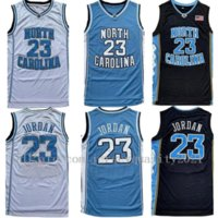 Hommes professionnels NCAA North Carolina Tar Gouilles 23 Michael Jersey Unc College Basketball Jerseys Blanc Blanc Blanc Fast Shipping Taille S-2XL