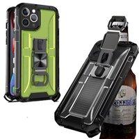 Cell Phone Defender Cases Anti Shock Case With Bottle Opener For iPhone 12 Pro Max XS 8 7Plus 6S Samsung Models