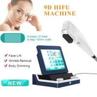 2021 Portable body shaping Focused ultrasound skin tightening treatment machine 9d hifu machines face lifting slimming 8 cartridges 11 Lines CE approved