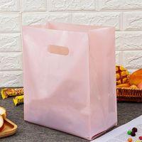 Plastik Çanta İçecek Konteynerleri Çantalar Tatlı Paketleme Gıda Pişirme Fırın Kek Tote Kozmetik Alışveriş Kılıf