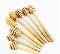 8 см / 10 см /10.4 см посуда Длинные мини-деревянные медовые палочки мешалки для мешалки Party Supply Poon Jar