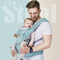 Baby-Trägerschlingen Rucksäcke vorne halten multifunktionale mütterliche und infantierbare Großhandel neugeborene Kinder-Taille-Hocker-Strap ist in allen Jahreszeiten universell