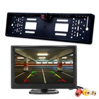 Car  Truck Monitor 4.3 Inch TFT LCD Screen with Auto Reversing Parking Line Rear View Camera Reversing Safety Monitors