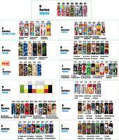 92 Typy Okładki baterii 18650 20700 21700 Seria Dekoracja Wrapper Vaper Skin Heat Thater Naklejki PVC do baterii
