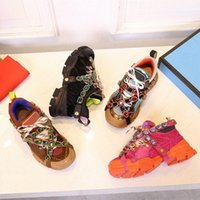 2021 Casual Schuhe Outdoor Wandern Frauen Stiefel FlashTrek Sneaker Männer Abnehmbare Kristalle Luxus Designer Mode Womens Herren Trainer Turnschuhe Ankle Booties