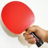Pagaie de tennis de table professionnelle avec caisse de transport Pong Raquette ITTF Caoutchouc approuvé pour Tournament Play Raquets