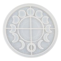 Diy R Eclipse Star Moon Clock Dial Silicone Mold For Resin Mould Epoxy Molds Baking & Pastry Tools